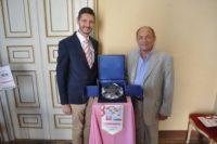 trofeo con Lorenzo Tirelli e Andrea Leoni